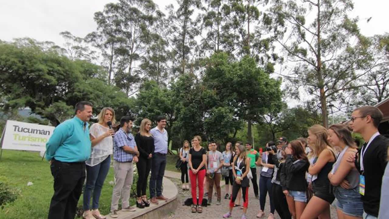 Tucumán: Jóvenes de todo el mundo vivieron una jornada muy tucumana