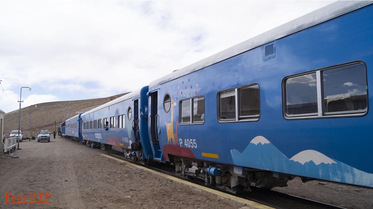 Salta: El Tren a la Nubes reprogramará su salida para el miércoles 26 de setiembre