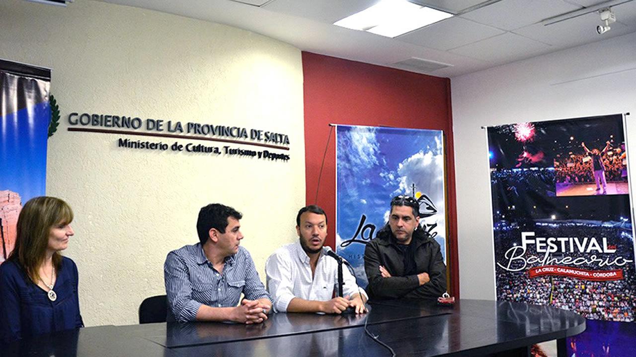Salta: Se presentó la 48º Edición del Festival del Balneario, Calamuchita Córdoba