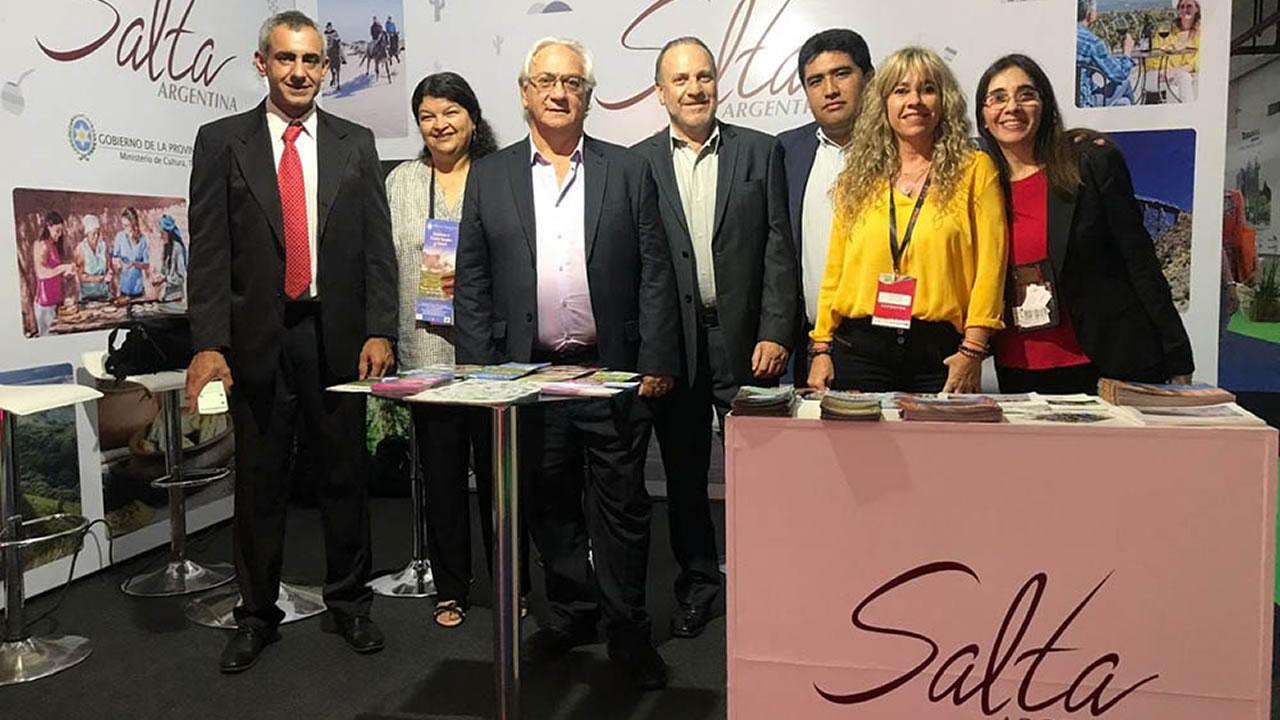 Salta presentó su oferta turística en la Feria Internacional de Turismo de Paraguay