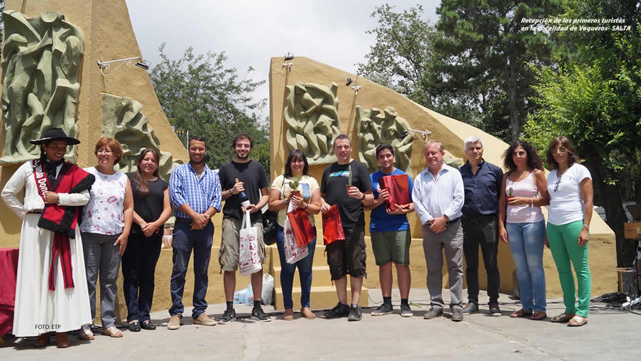Salta, Vaqueros recibió a los primeros turistas de la temporada