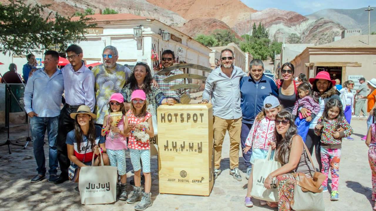 Jujuy: Lanzaron la temporada turística en Purmamarca