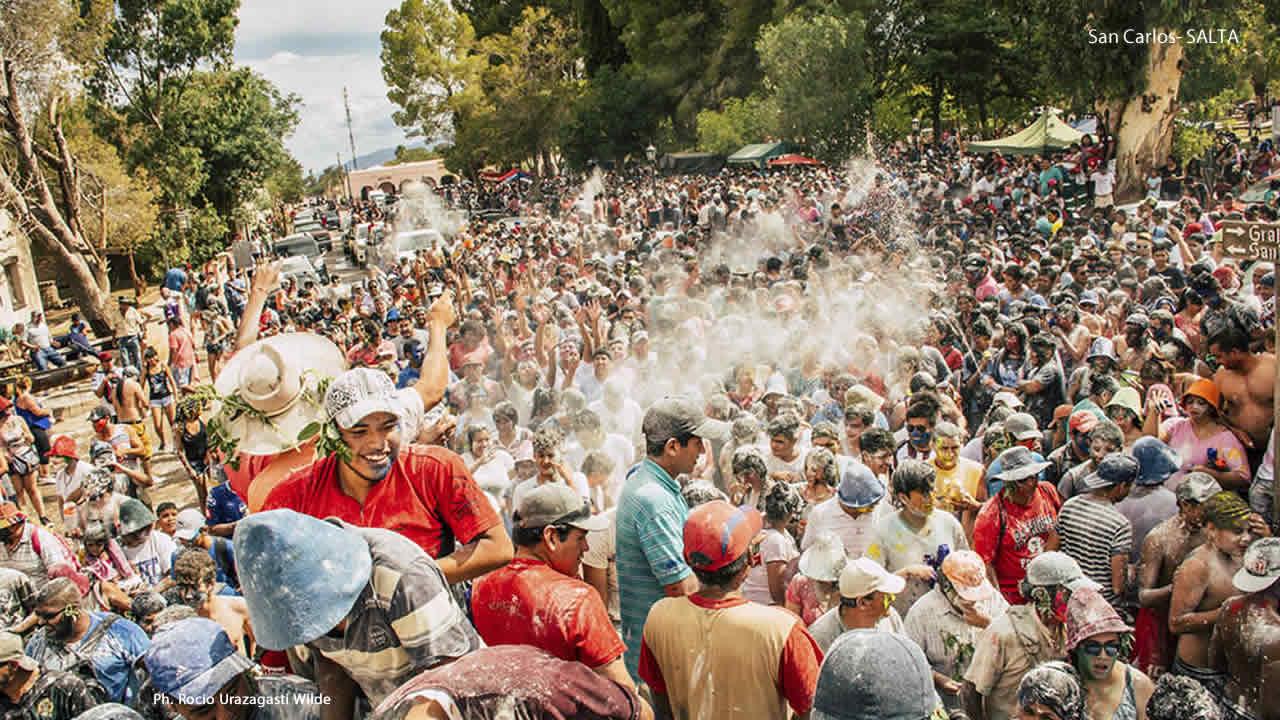 Salta: El fin de semana se vive el Carnaval en toda la provincia
