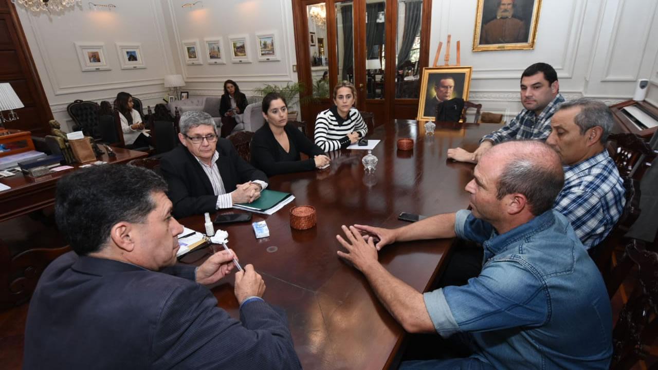 La Rioja: Destacaron trabajo en equipo por la seleccion de Talampaya