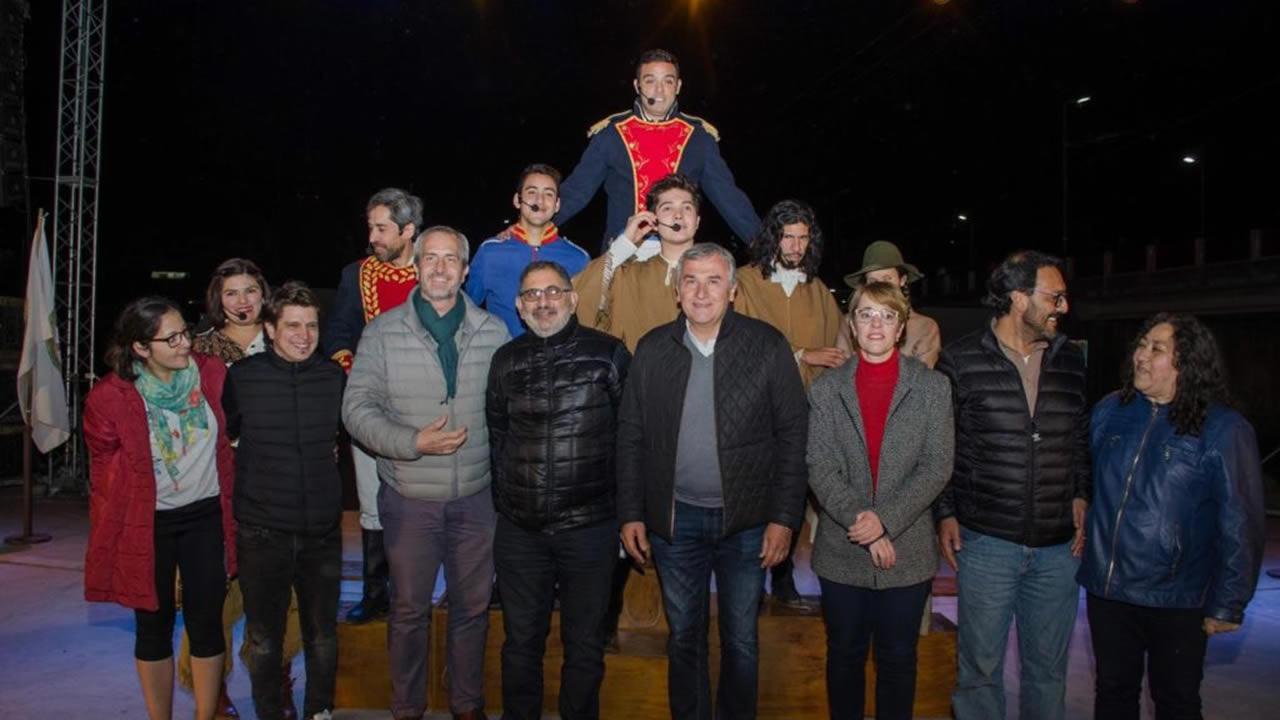 Jujuy: Exitosa presentación del musical Belgrano en Jujuy