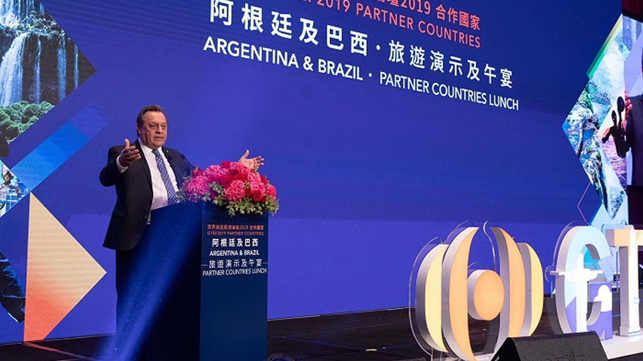 Argentina: Invitado de Honor, junto a Brasil, al Foro Global de Turismo en China
