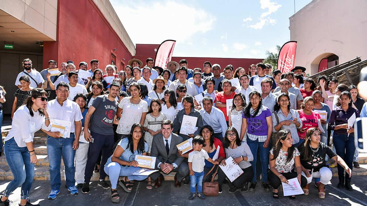 Salta: 75 nuevos beneficiarios del programa Emprende Turismo en el Valle Calchaqui