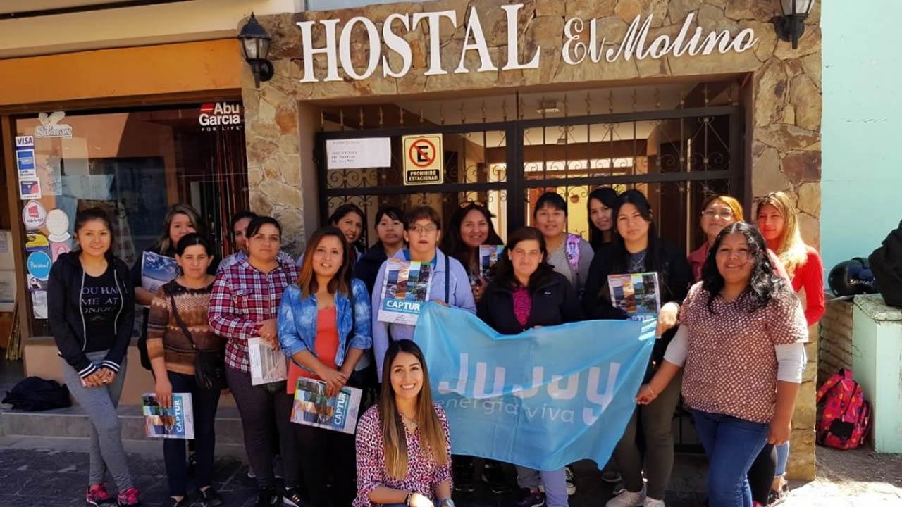 Jujuy:  Capacitación a emprendedores de Turismo de El Carmen