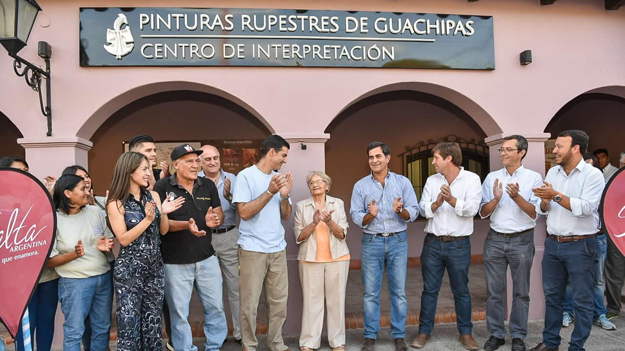 Salta: Quedó inaugurado el Centro de Interpretación del Arte Rupestre de Guachipas