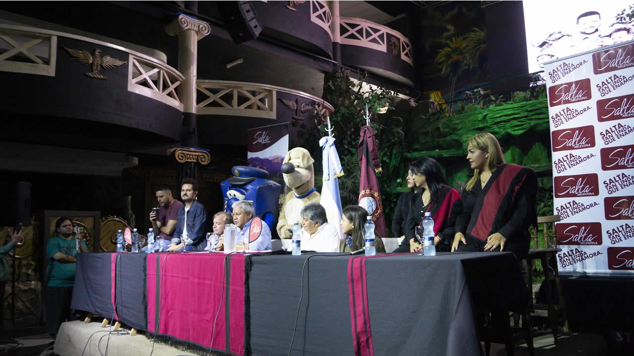 Salta: Molinos lanzó la XXVII Edición del Festival del Poncho, Doma y Folclore
