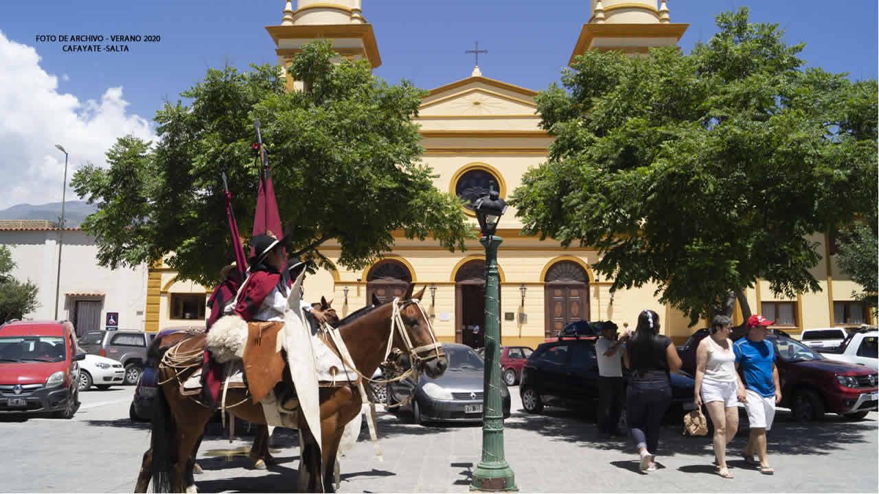 Salta: El turismo volvió para los salteños, Cafayate fue uno de los destinos elegidos