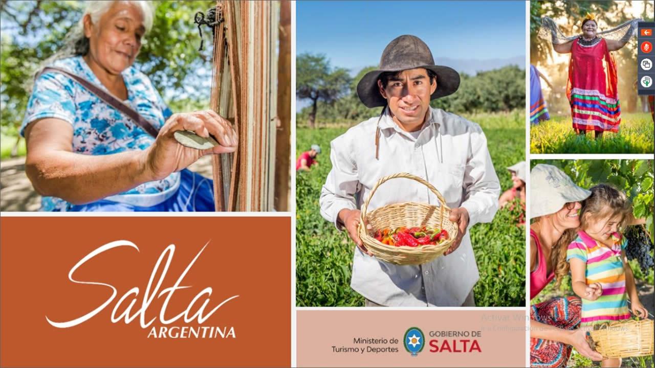 Turismo Rural: presentaciones de Jujuy y Salta en el tercer encuentro virtual