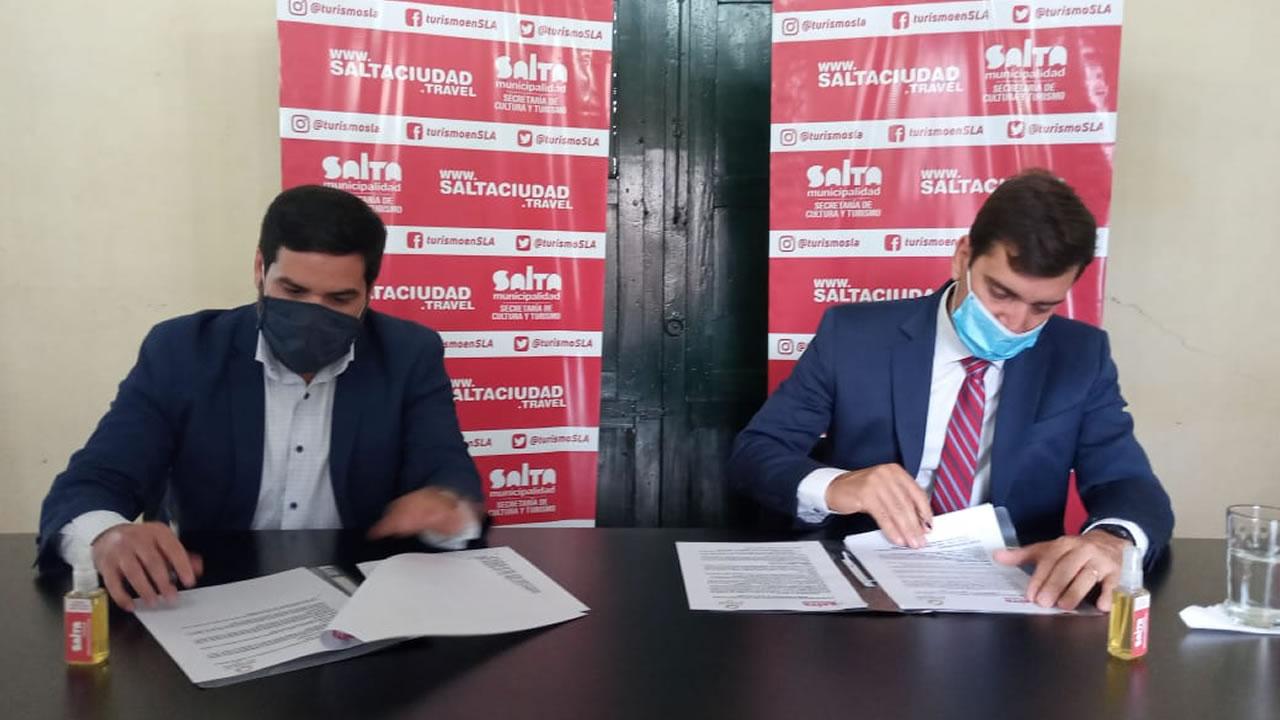 Salta: La ciudad firmo un convenio marco con Termas De Rio Hondo