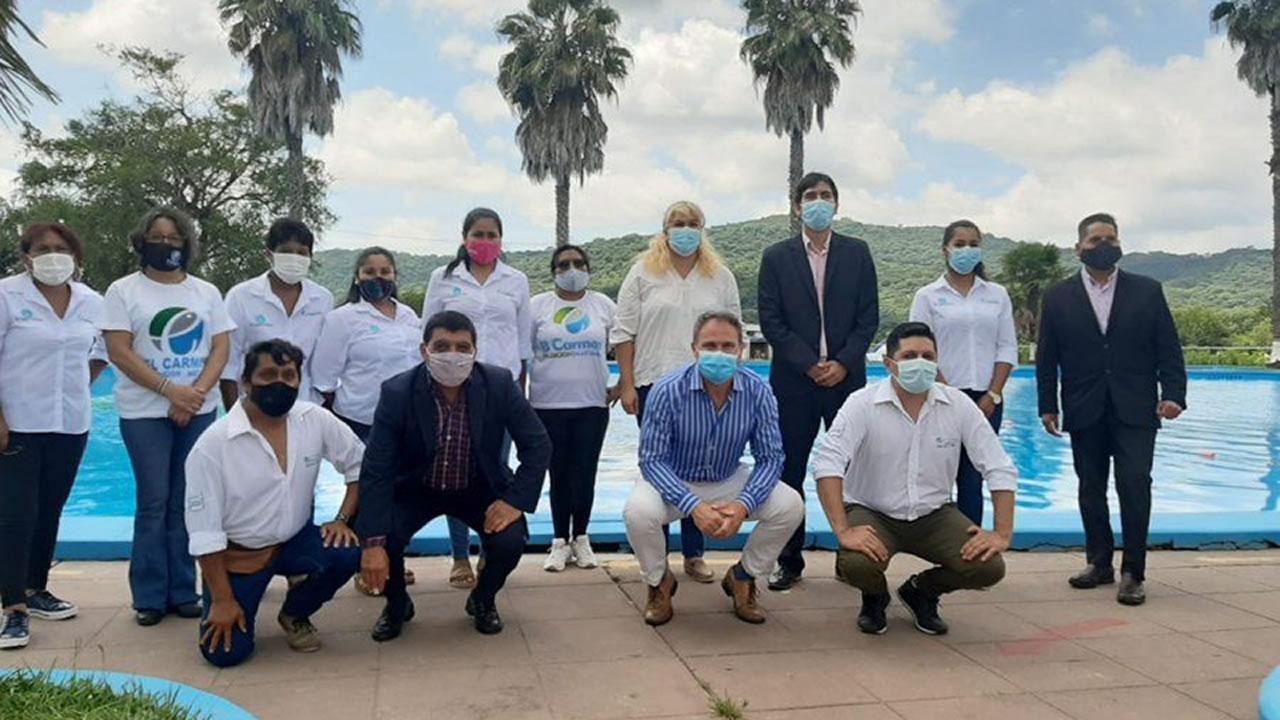 Jujuy: Presentaron equipamiento de promoción y seguridad turística en El Carmen