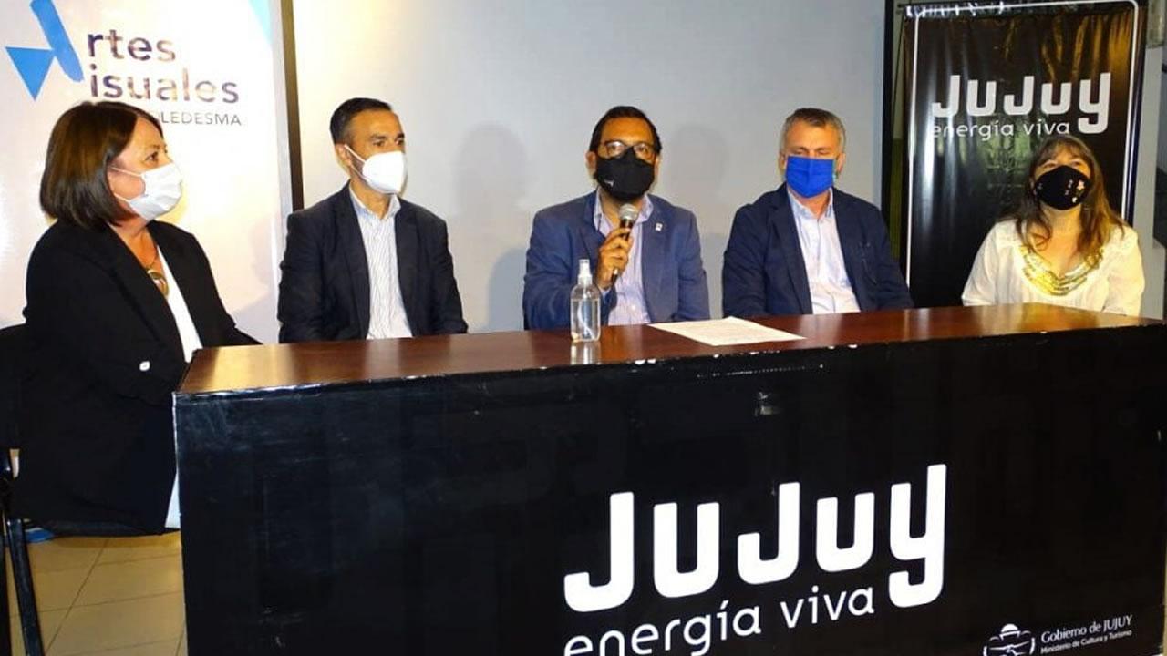 Jujuy: Ledesma presentó la edición 2021 de su premio de Artes Visuales