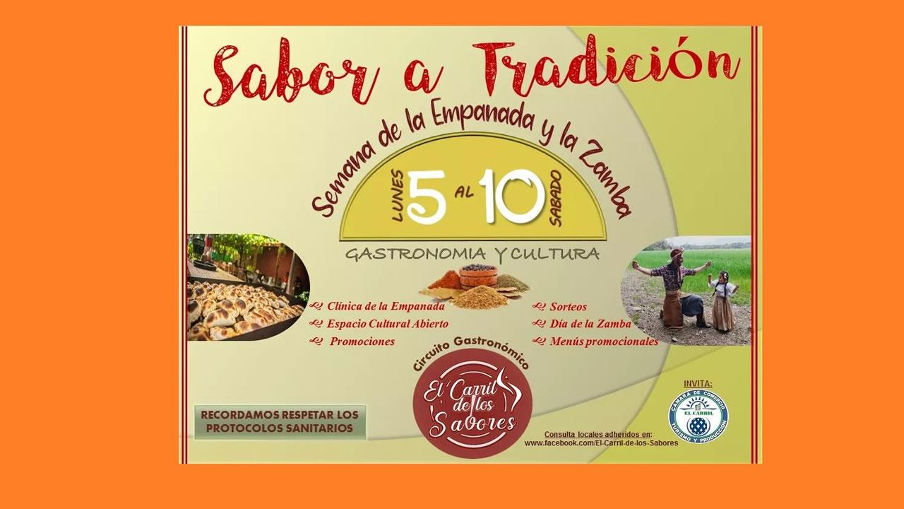 Salta: El Carril invita a vivir la Semana de la Empanada y la Zamba