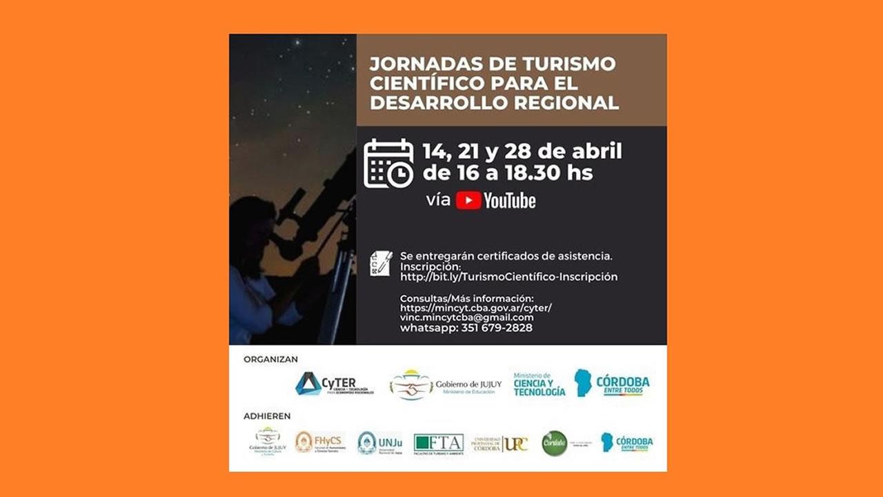 Jujuy: Jornadas de Turismo Científico para el desarrollo regional