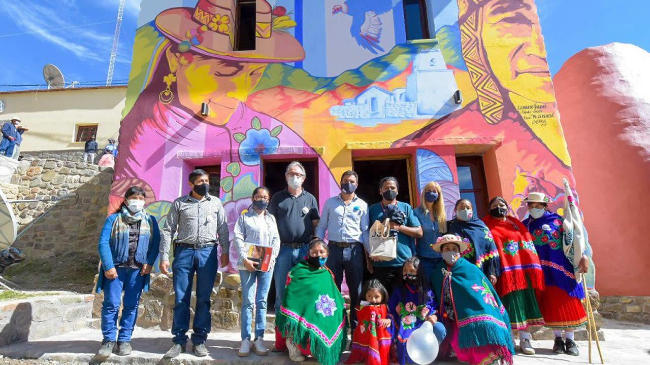 Jujuy:  Inaguraron el Centro Cultural Caspalá