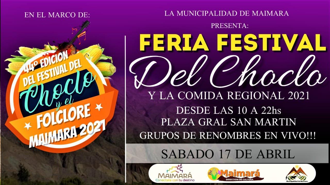 Jujuy: Maimara vivirá una nueva edición del Festival del choclo y el folclore