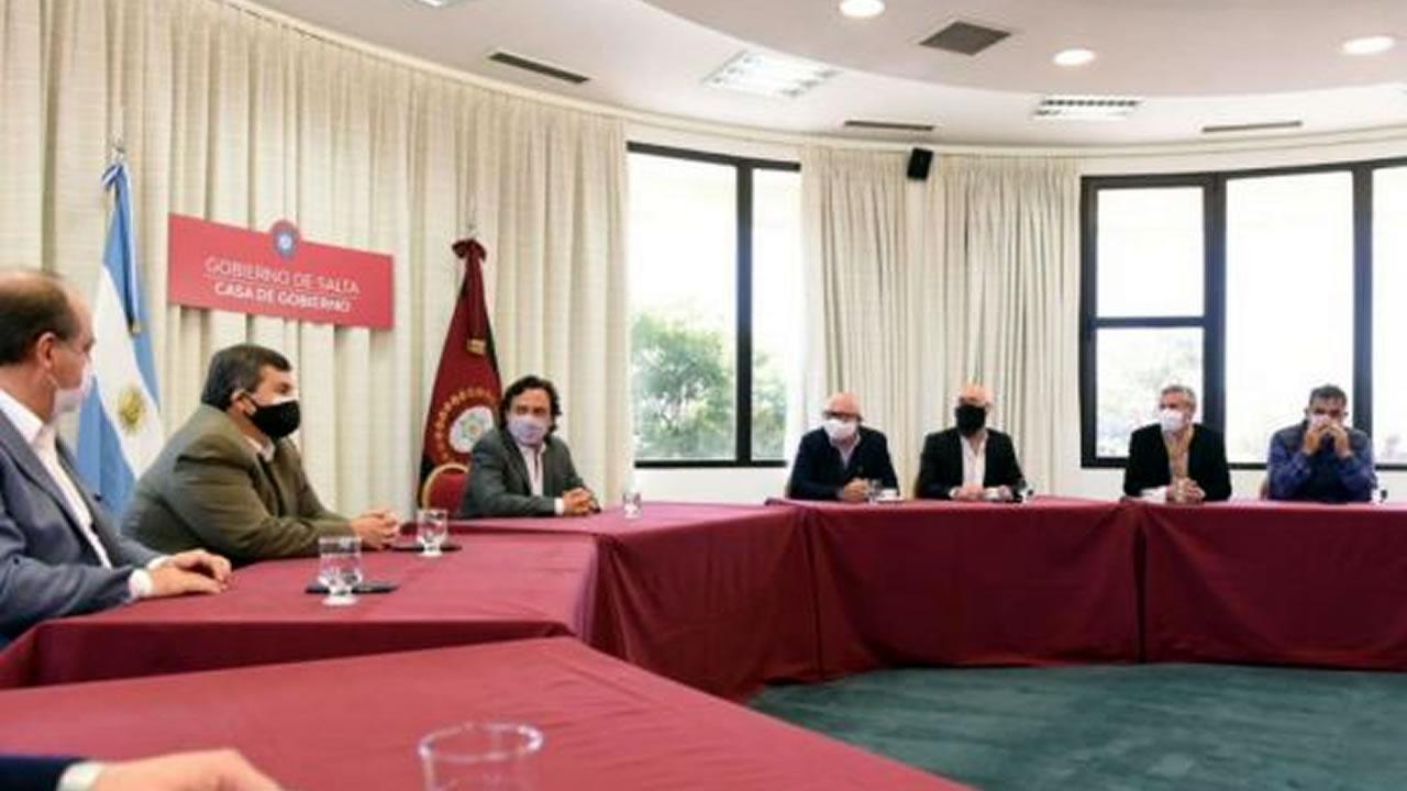 Salta: Gobernador se reunió con representantes del comercio, gastronomía y turismo
