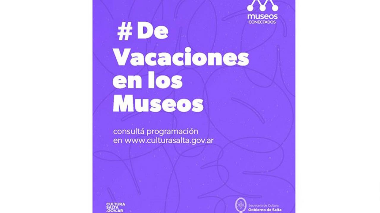 Salta: Actividades en Museos provinciales durante las vacaciones de invierno