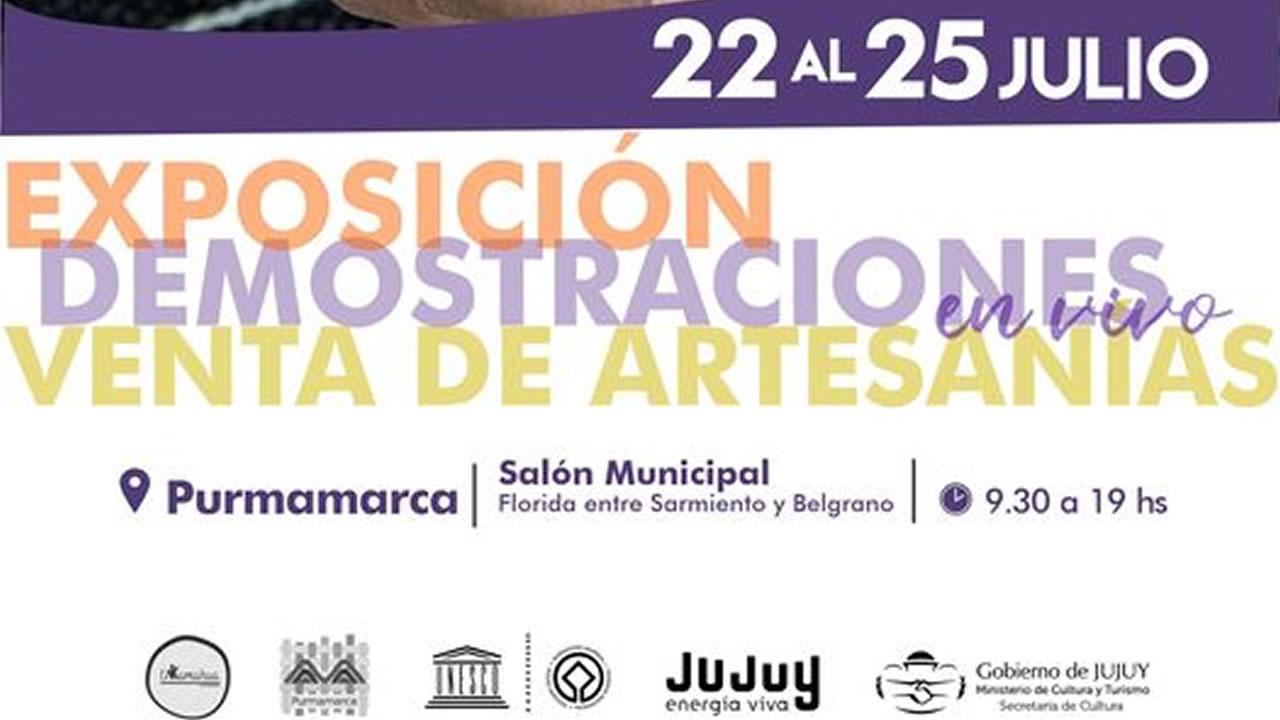 Jujuy: Purmamarca vive su Noveno Encuentro de Tejedores