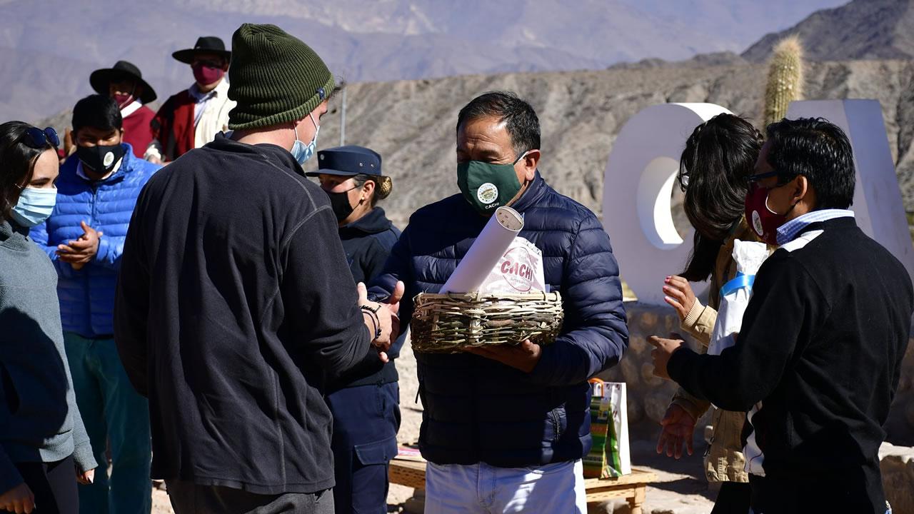 Salta: Cachi recibio a los primeros turistas de la temporada