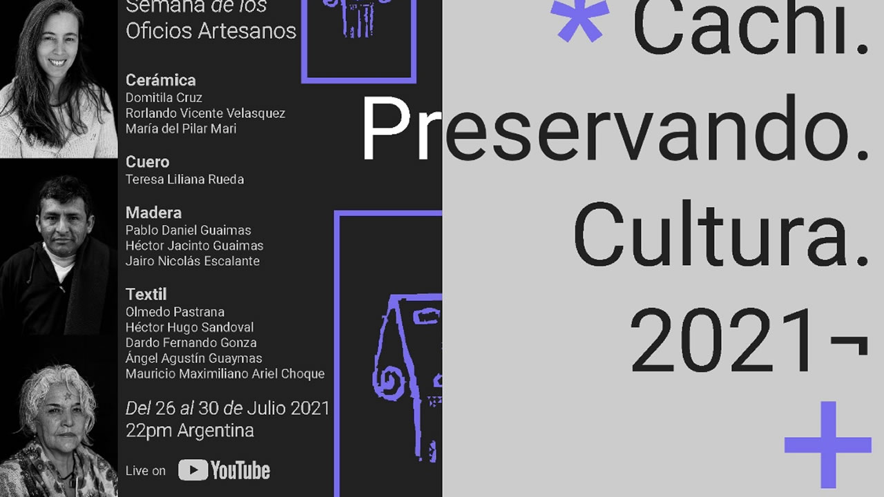 Salta: El Mercado Artesanal Cachi se muestra al mundo en un evento virtual