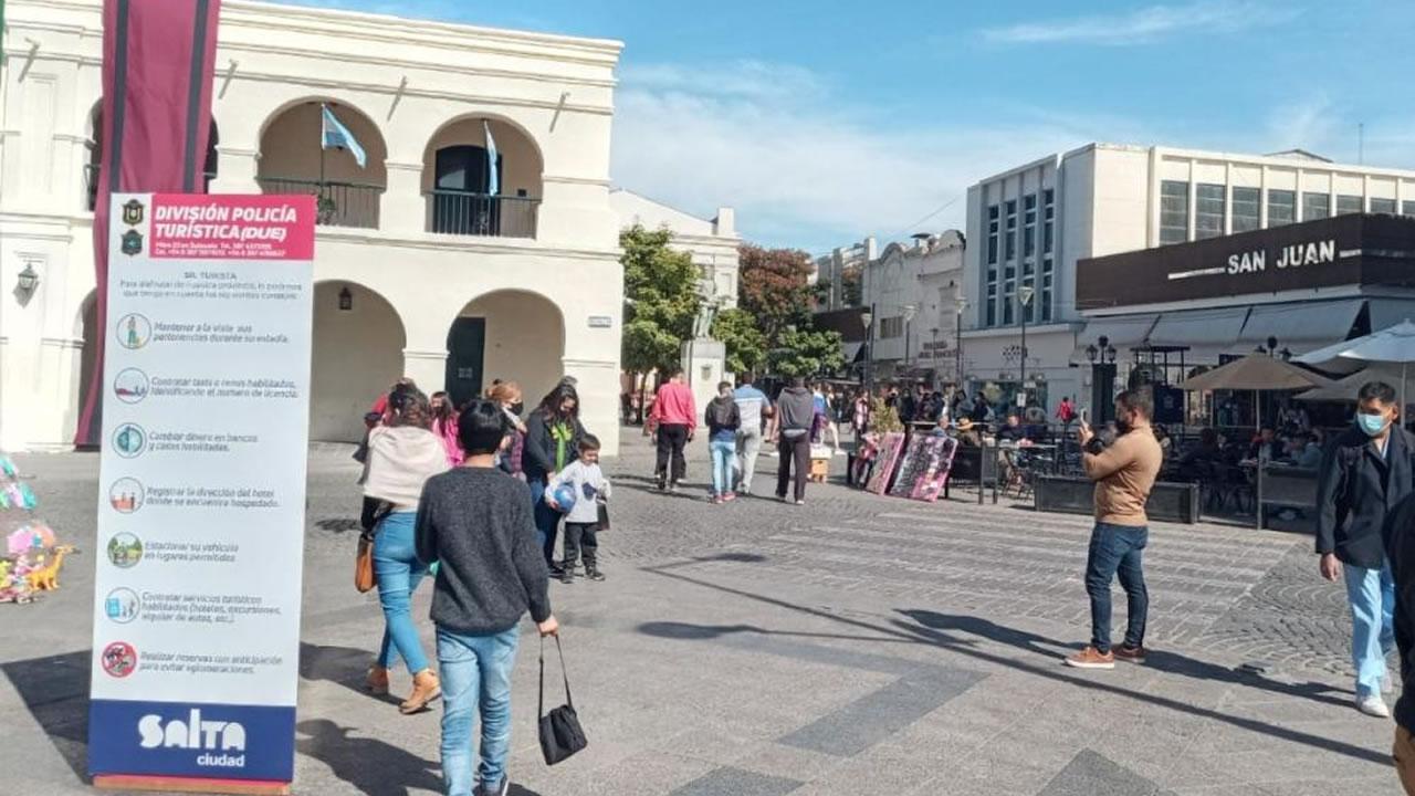 Salta: Segunda semana de vacaciones con resultado positivo para el turismo en la ciudad