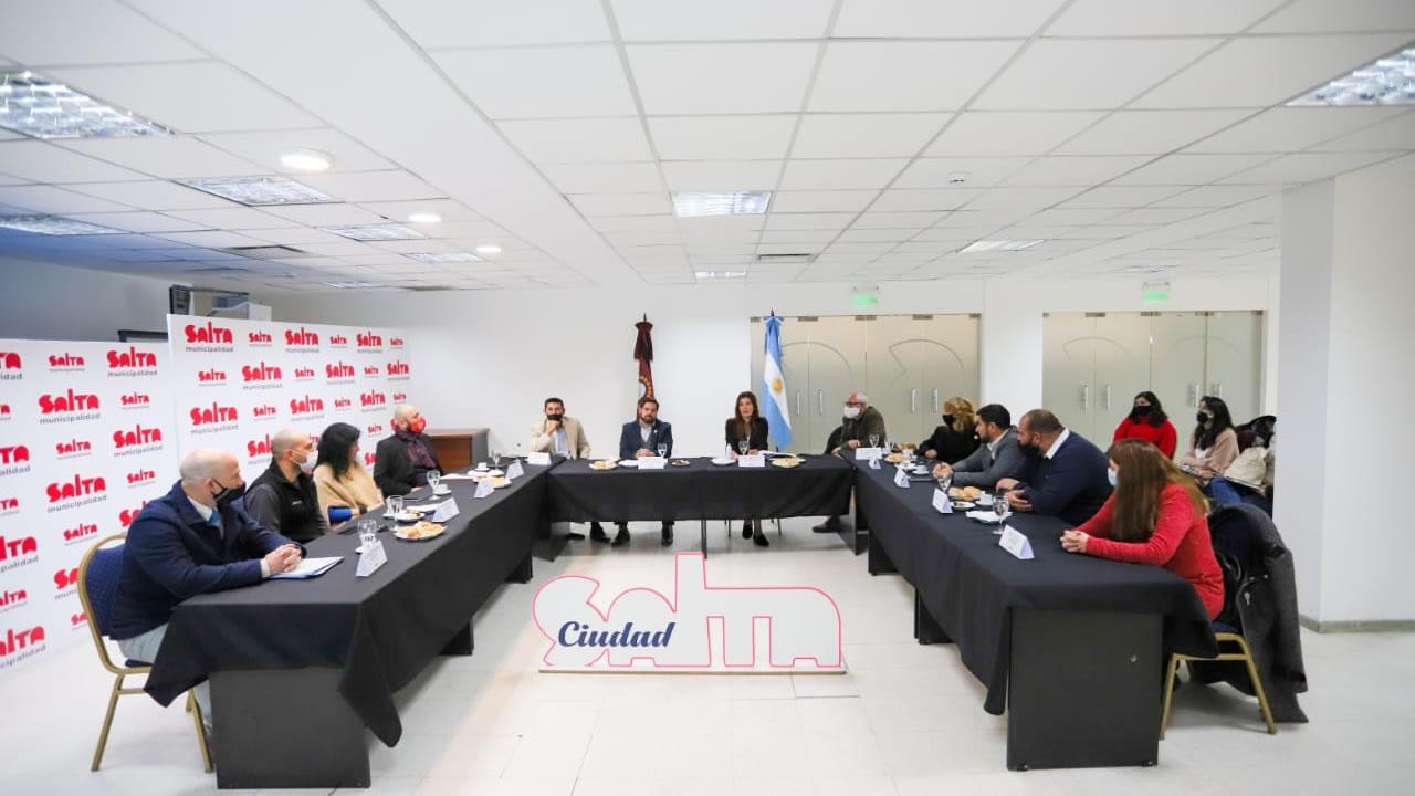 Salta: Se reunio el Comité de Turismo de la Ciudad con referentes del sector privado