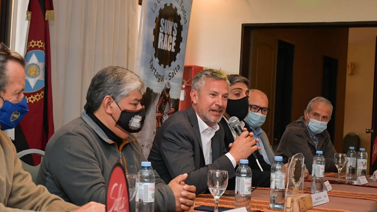 Salta: Se presentó una nueva edición de la carrera de enduro Sun's Race