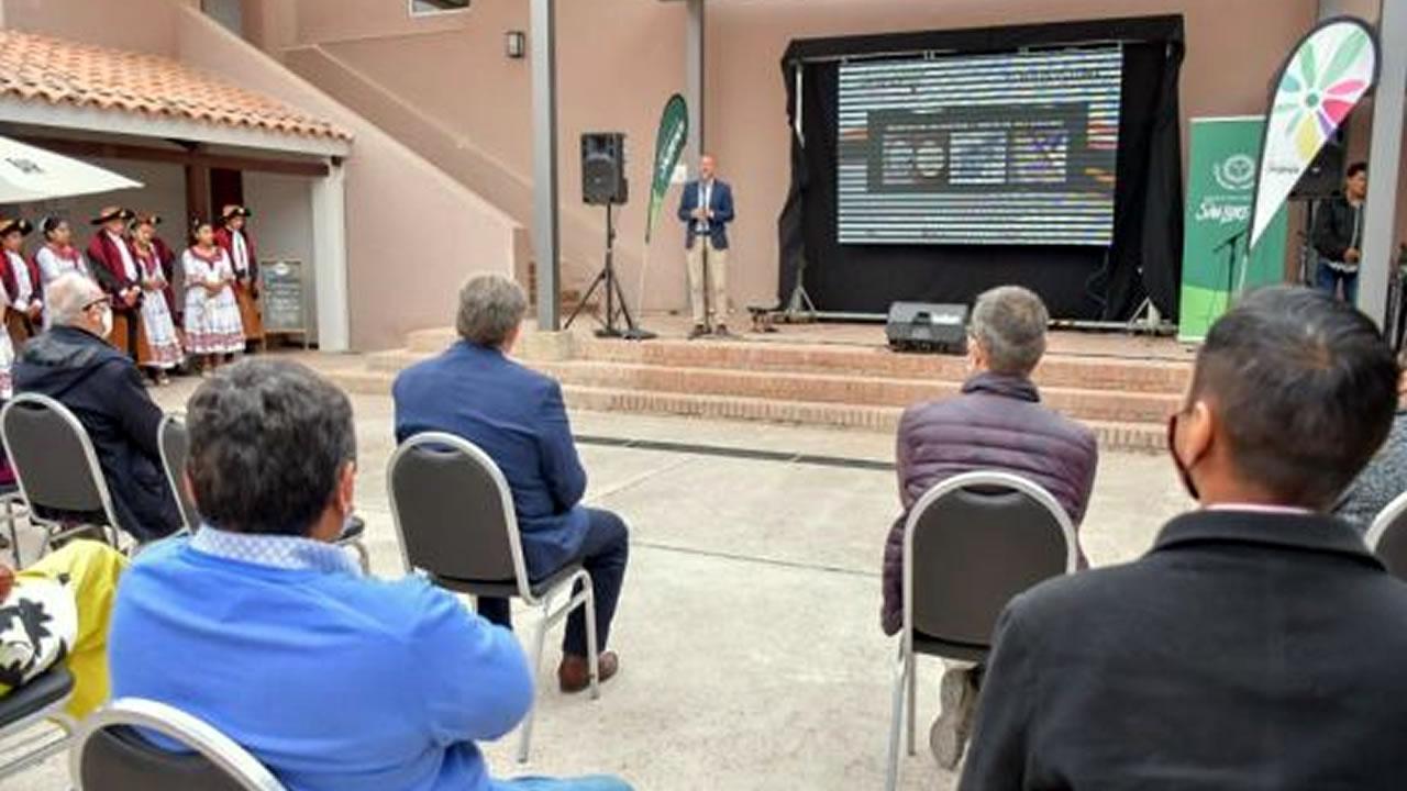 Salta: San Lorenzo presentó su nueva web turística